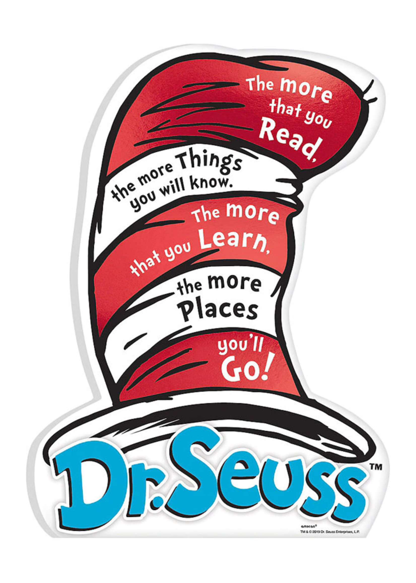 Dr. Seuss Mini Standing Sign