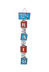Dr. Seuss Hats Off To Reading Door Sign