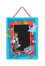 Dr. Seuss Chalkboard Easel Sign