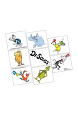 Dr. Seuss Temp Tattoos - 8pk