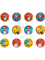 Dr. Seuss Cat in the Hat Buttons - 12ct