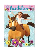 UNIQUE INDUSTRIES INC Spirit Riding Free Invitations - 8ct