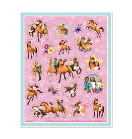 UNIQUE INDUSTRIES INC Spirit Riding Free Sticker Sheets - 4ct