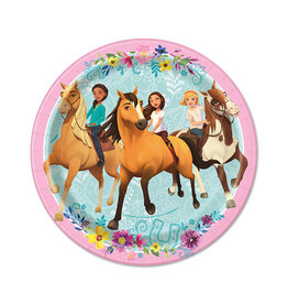 UNIQUE INDUSTRIES INC Spirit Riding Free Dessert Plates - 8ct