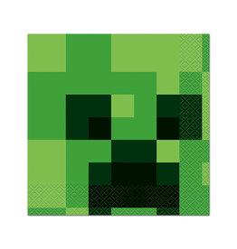 UNIQUE INDUSTRIES INC Minecraft Luncheon Napkins - 16ct