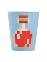 UNIQUE INDUSTRIES INC Minecraft 9oz Paper Cups - 8ct