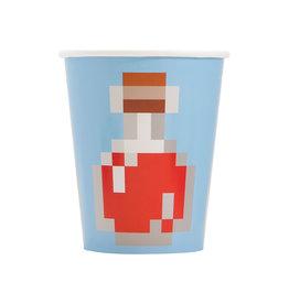 UNIQUE INDUSTRIES INC Minecraft 9oz Paper Cups - 8ct