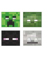 UNIQUE INDUSTRIES INC Minecraft Party Masks - 8ct