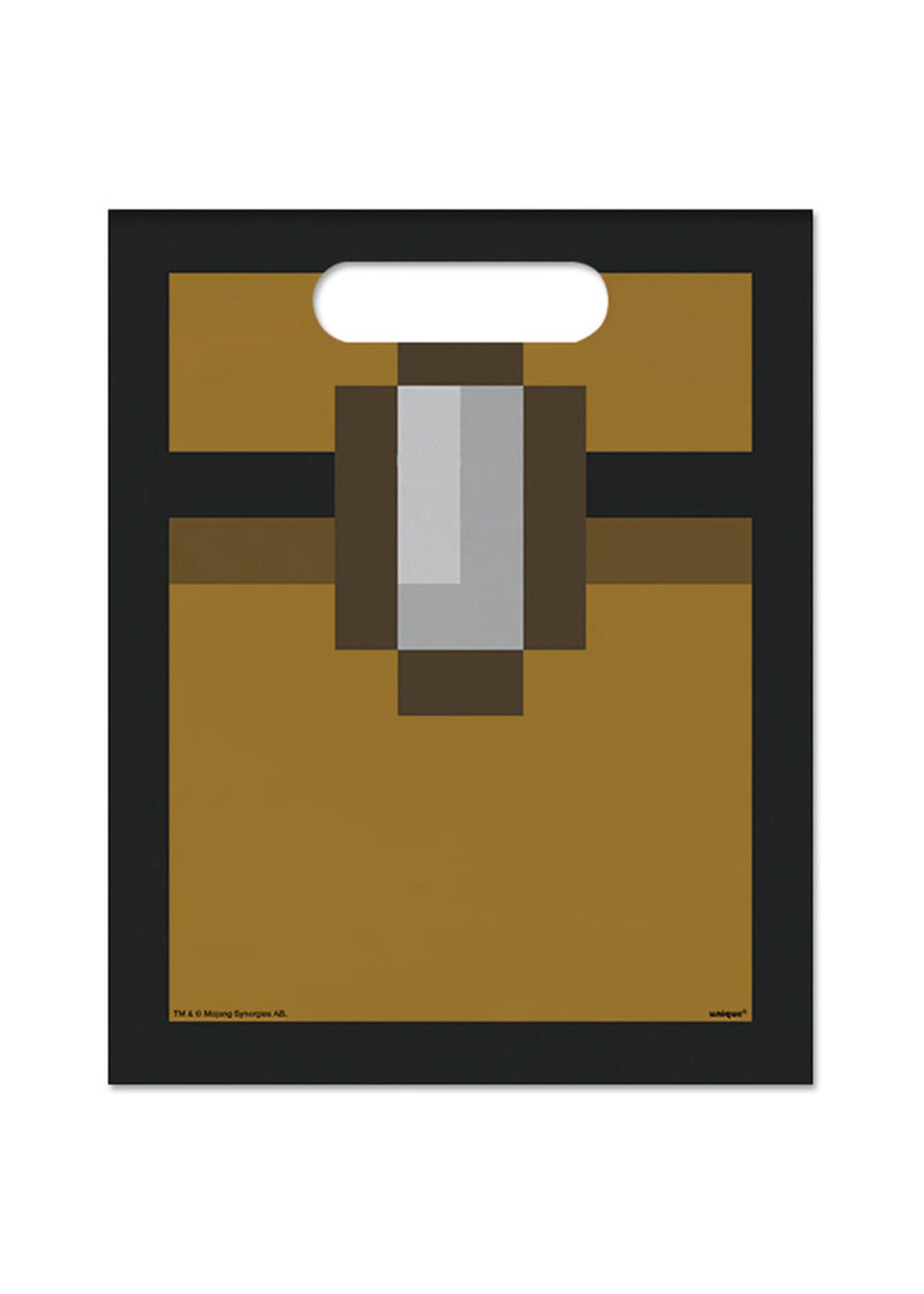 UNIQUE INDUSTRIES INC Minecraft Loot Bags - 8ct