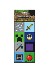 UNIQUE INDUSTRIES INC Minecraft Lenticular Stickers - 16ct
