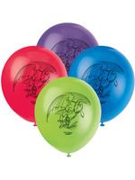 UNIQUE INDUSTRIES INC How to Train Your Dragon Latex Balloons - 8ct