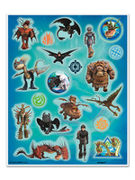 UNIQUE INDUSTRIES INC How to Train Your Dragon Stickers - 4ct
