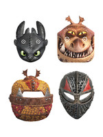 UNIQUE INDUSTRIES INC How to Train Your Dragon Party Masks - 8ct
