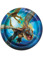 UNIQUE INDUSTRIES INC How to Train Your Dragon Dessert Plates - 8ct