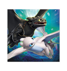 UNIQUE INDUSTRIES INC How to Train Your Dragon Luncheon Napkins - 16ct