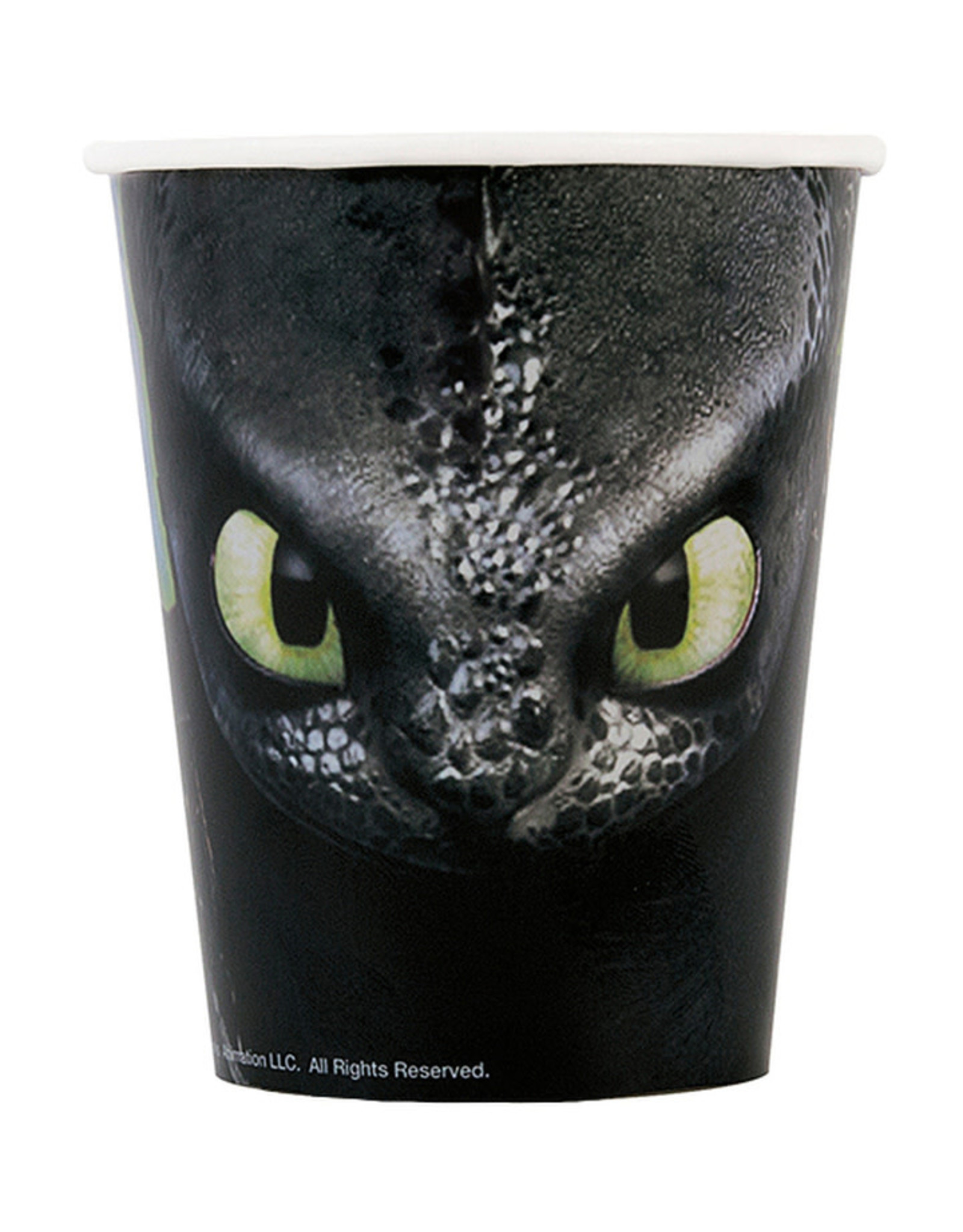 UNIQUE INDUSTRIES INC How to Train Your Dragon Paper Cups - 8ct