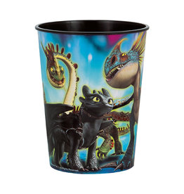 UNIQUE INDUSTRIES INC How to Train Your Dragon 16oz Plastic Cup