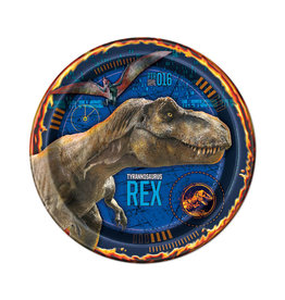 "UNIQUE INDUSTRIES INC Jurassic World: Fallen Kingdom 9"" Luncheon Plates - 8ct"