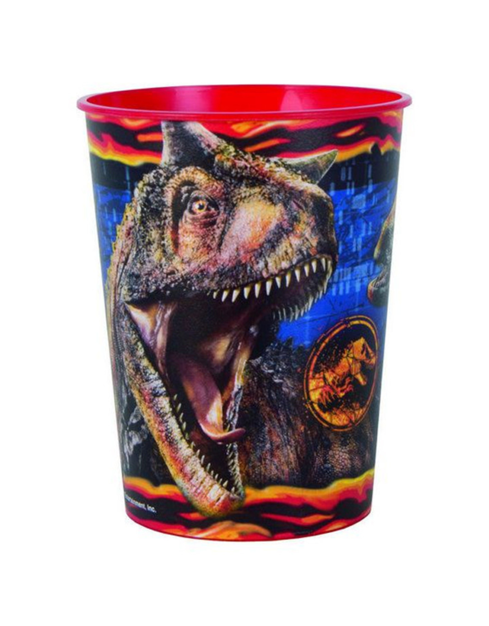 UNIQUE INDUSTRIES INC Jurassic World: Fallen Kingdom 16oz Plastic Favor Cup