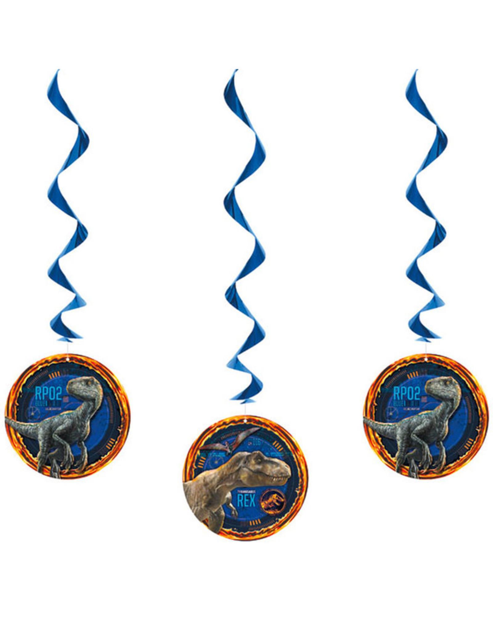 UNIQUE INDUSTRIES INC Jurassic World: Fallen Kingdom Hanging Decorations - 3ct