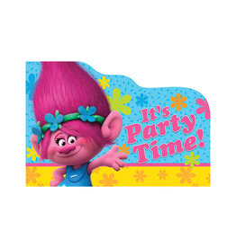 Trolls Postcard Invitations - 8ct