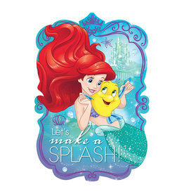 Disney Ariel Dream Big Invitations - 8ct