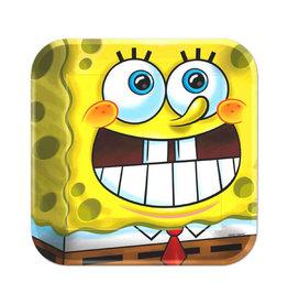 "SpongeBob Classic 9"" Plates - 8ct"