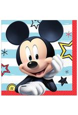 Mickey On The Go Beverage Napkins - 16ct