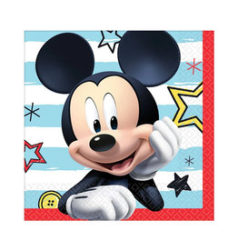 Mickey On The Go Beverage Napkins - 16ct
