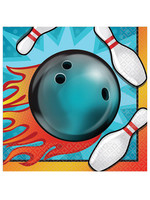 Bowling Beverage Napkins - 16ct