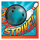 Bowling Lunch Napkins - 16ct