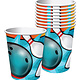 Bowling 9oz Paper Cups - 8ct