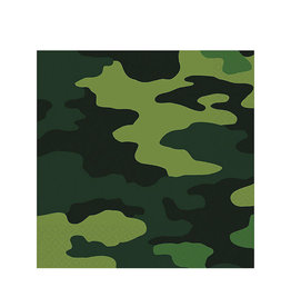 Camouflage Lunch Napkins - 16ct