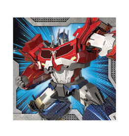Transformers Beverage Napkins - 16ct