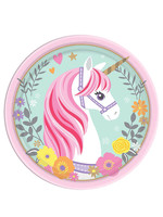 Magical Unicorn Dessert Plates -  8ct
