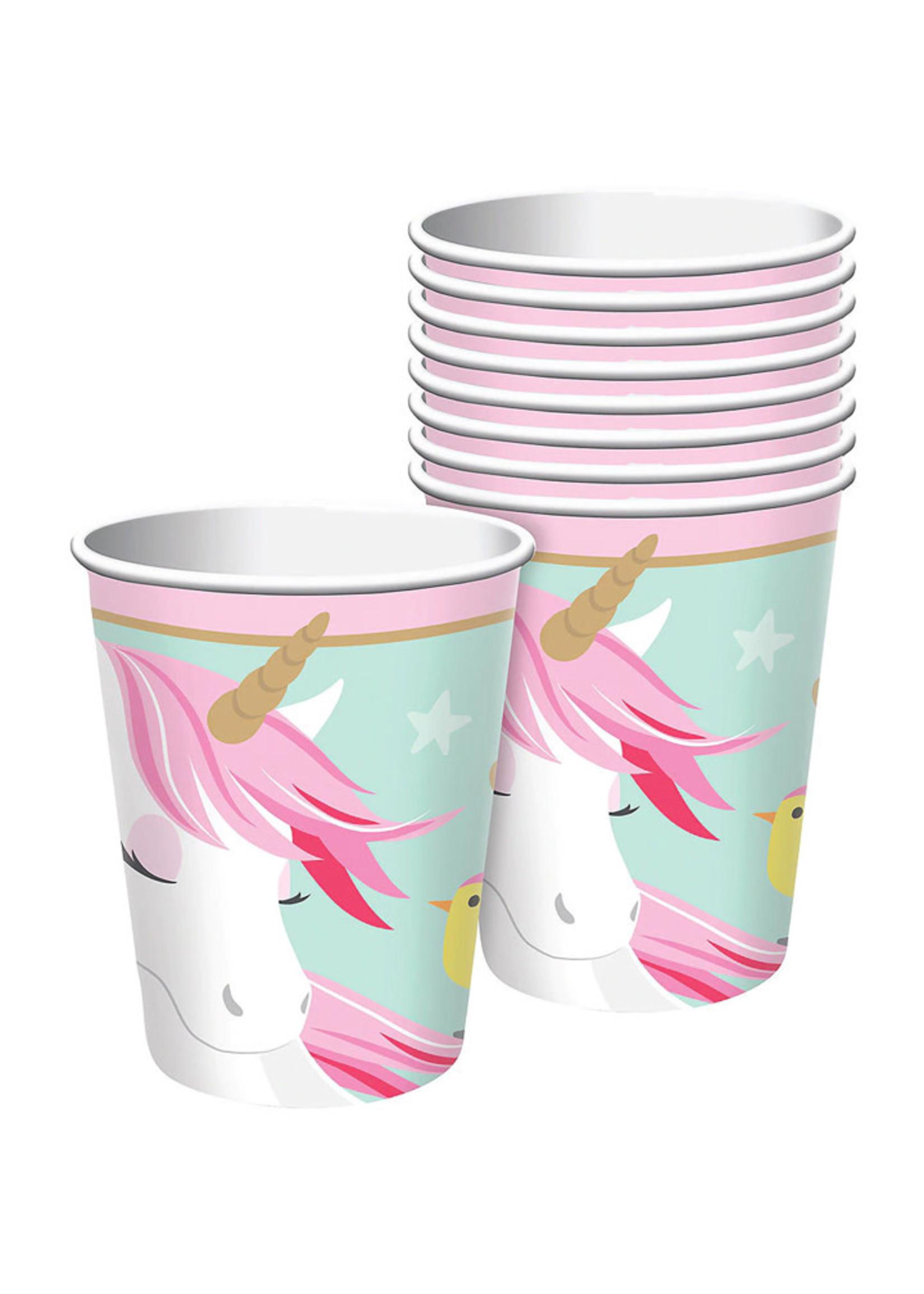 Magical Unicorn 9oz Cups - 8ct