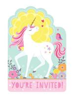 Magical Unicorn Invitations - 8ct