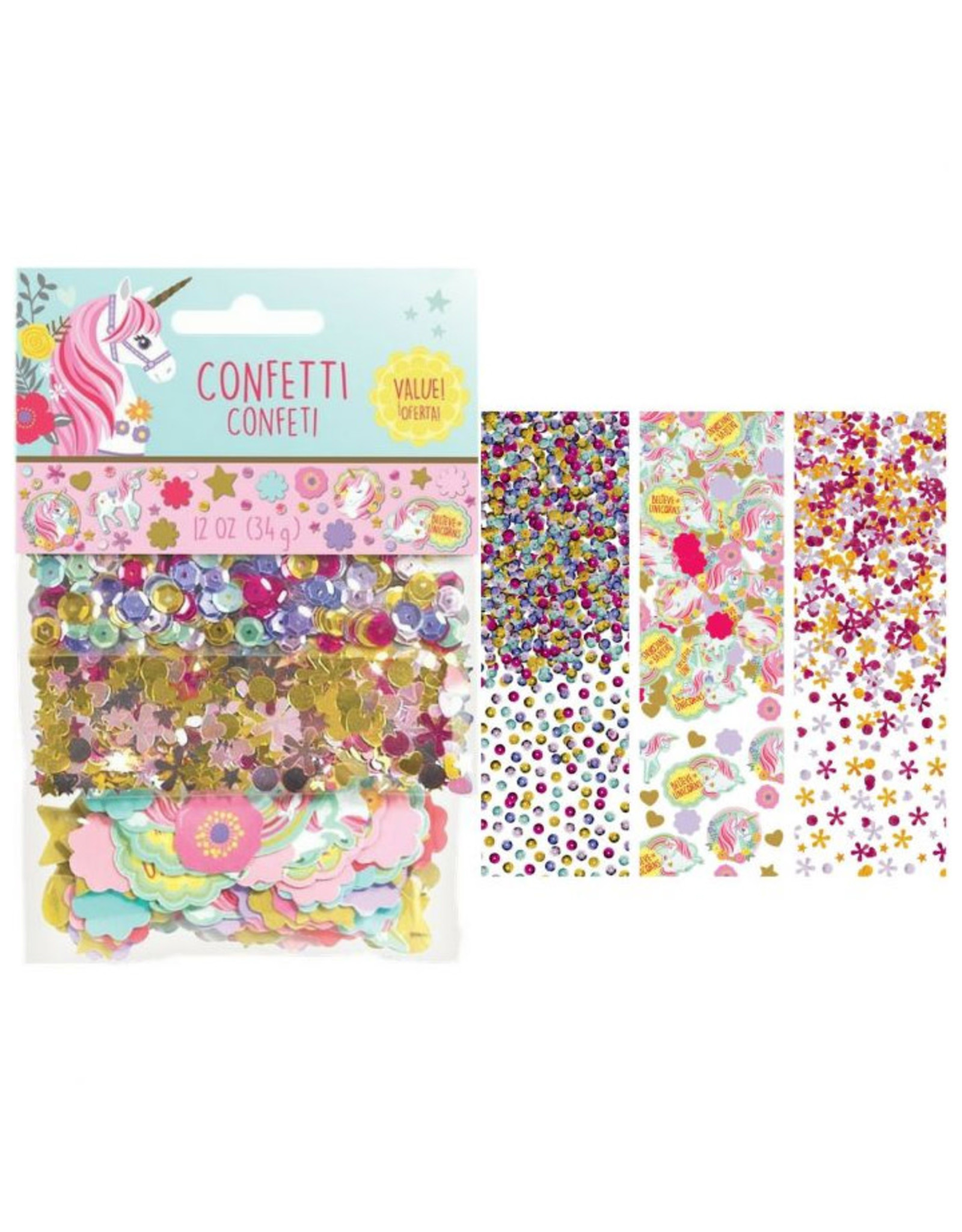 Magical Unicorn Confetti Pack