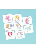 Magical Unicorn Tattoos - 8ct