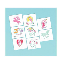 Magical Unicorn Tattoos - 8ct