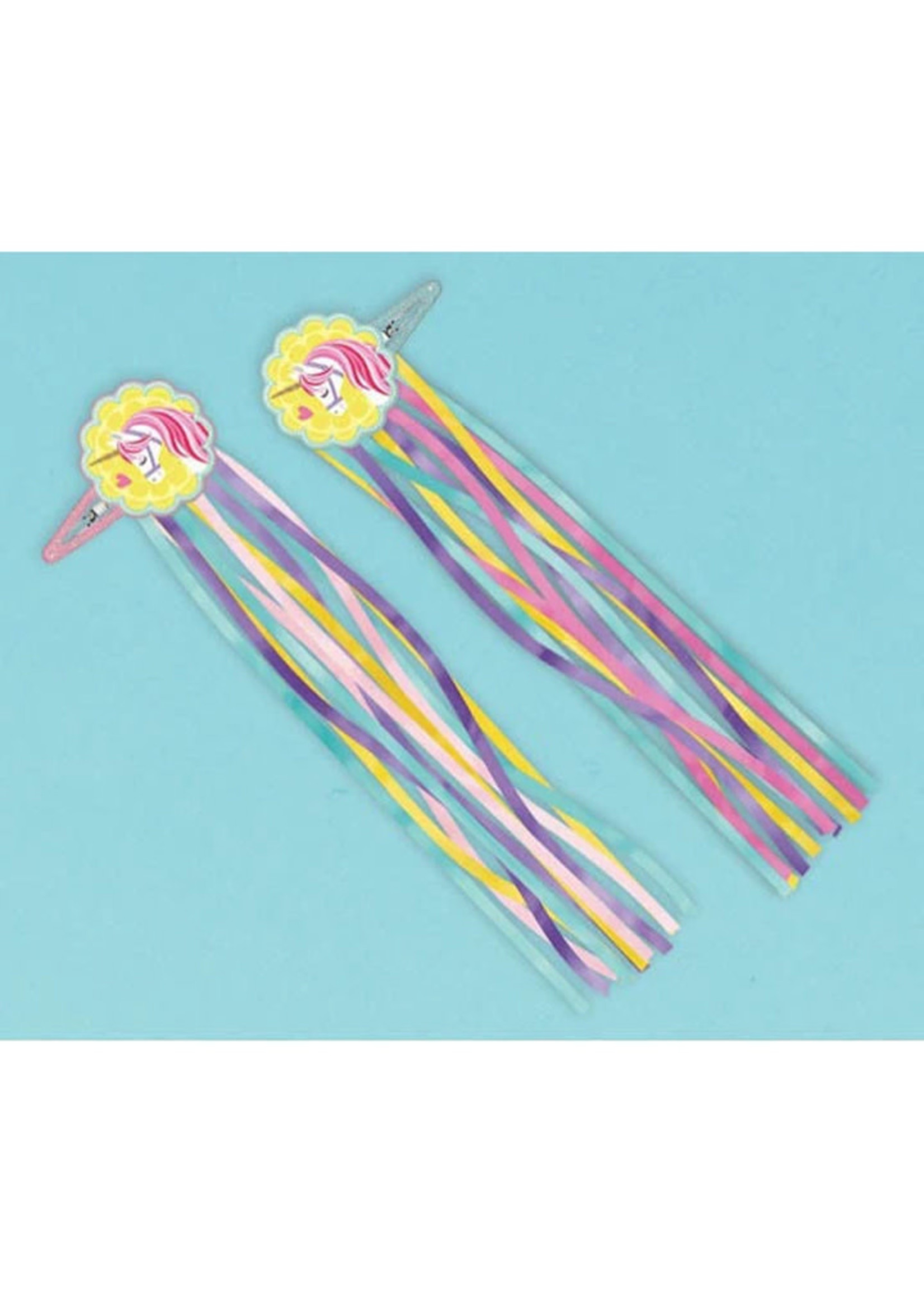 Magical Unicorn Hair Accessories - 4ct