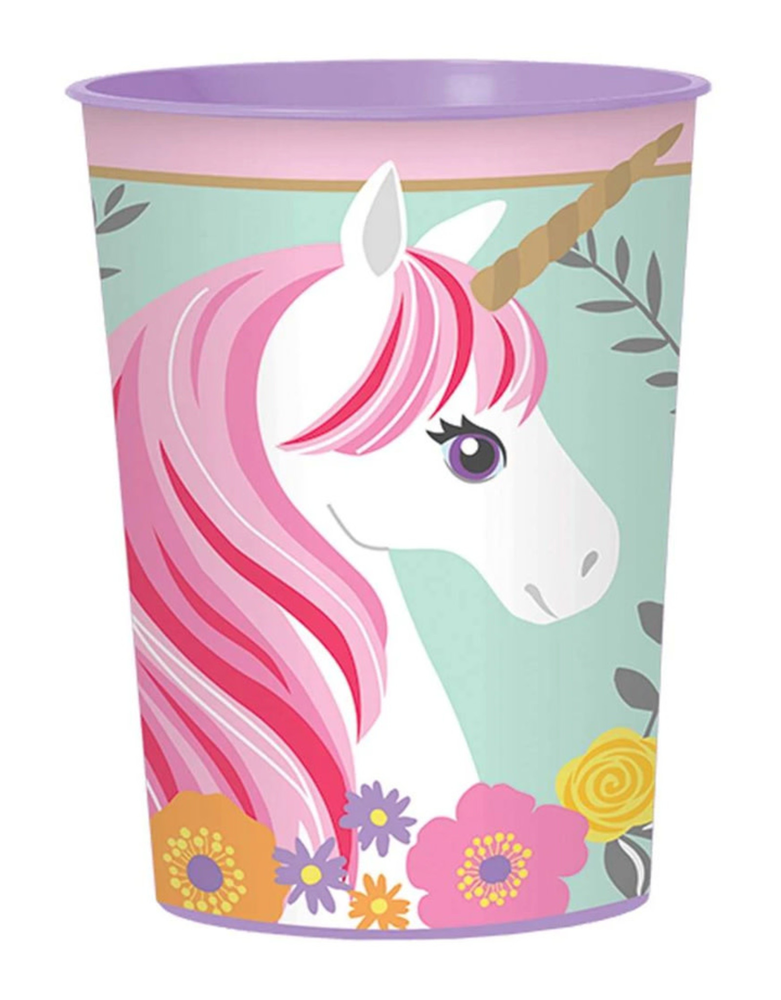 Magical Unicorn 16oz Favor Cup