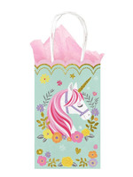 Magical Unicorn Glitter Small Cub Bags - 10ct
