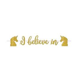 Magical Unicorn Letter Banner