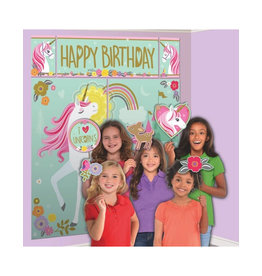 Magical Unicorn Scene Setters with Photo Props