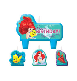 Disney Ariel Dream Big Birthday Candle Set
