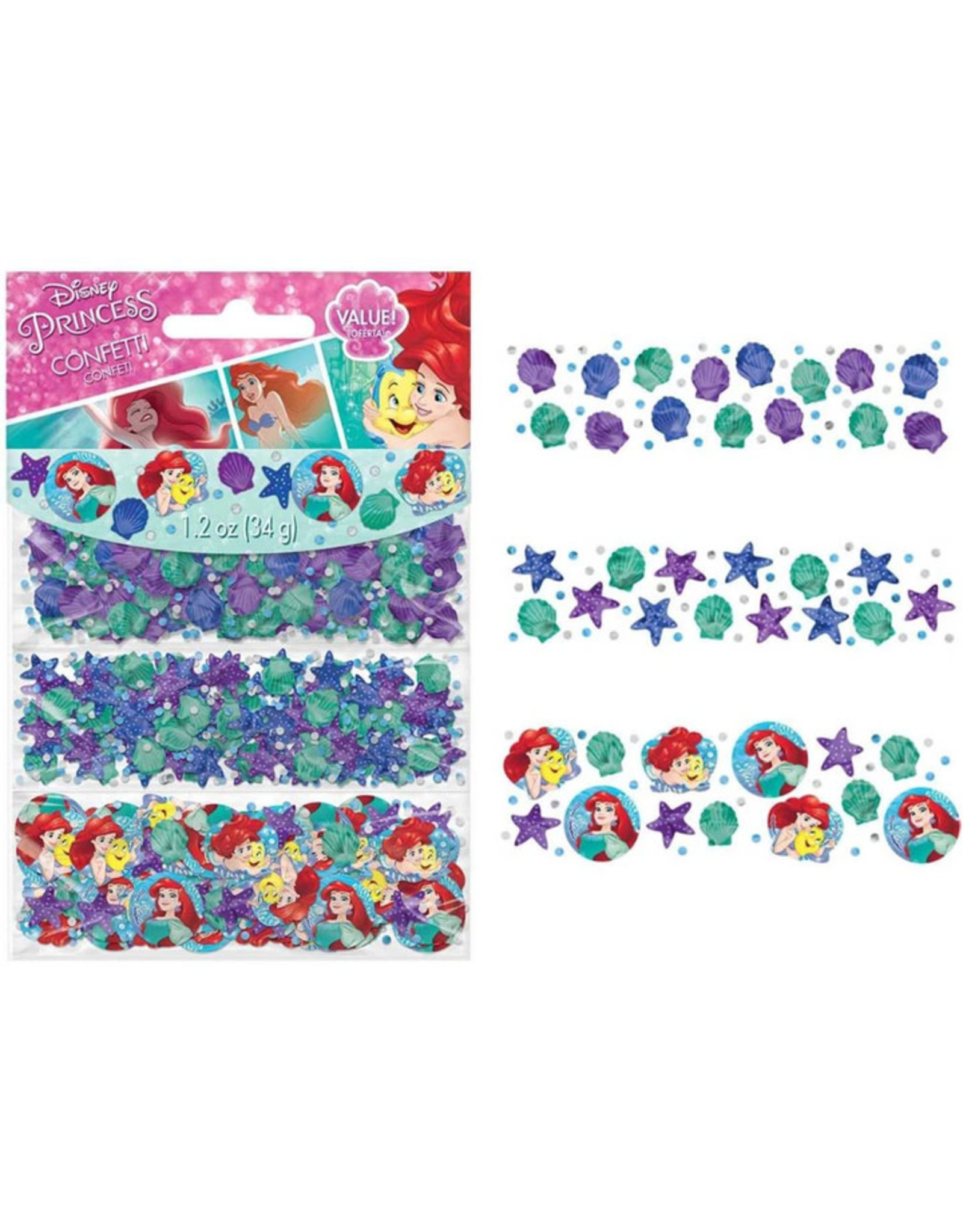 Disney Ariel Dream Big Confetti