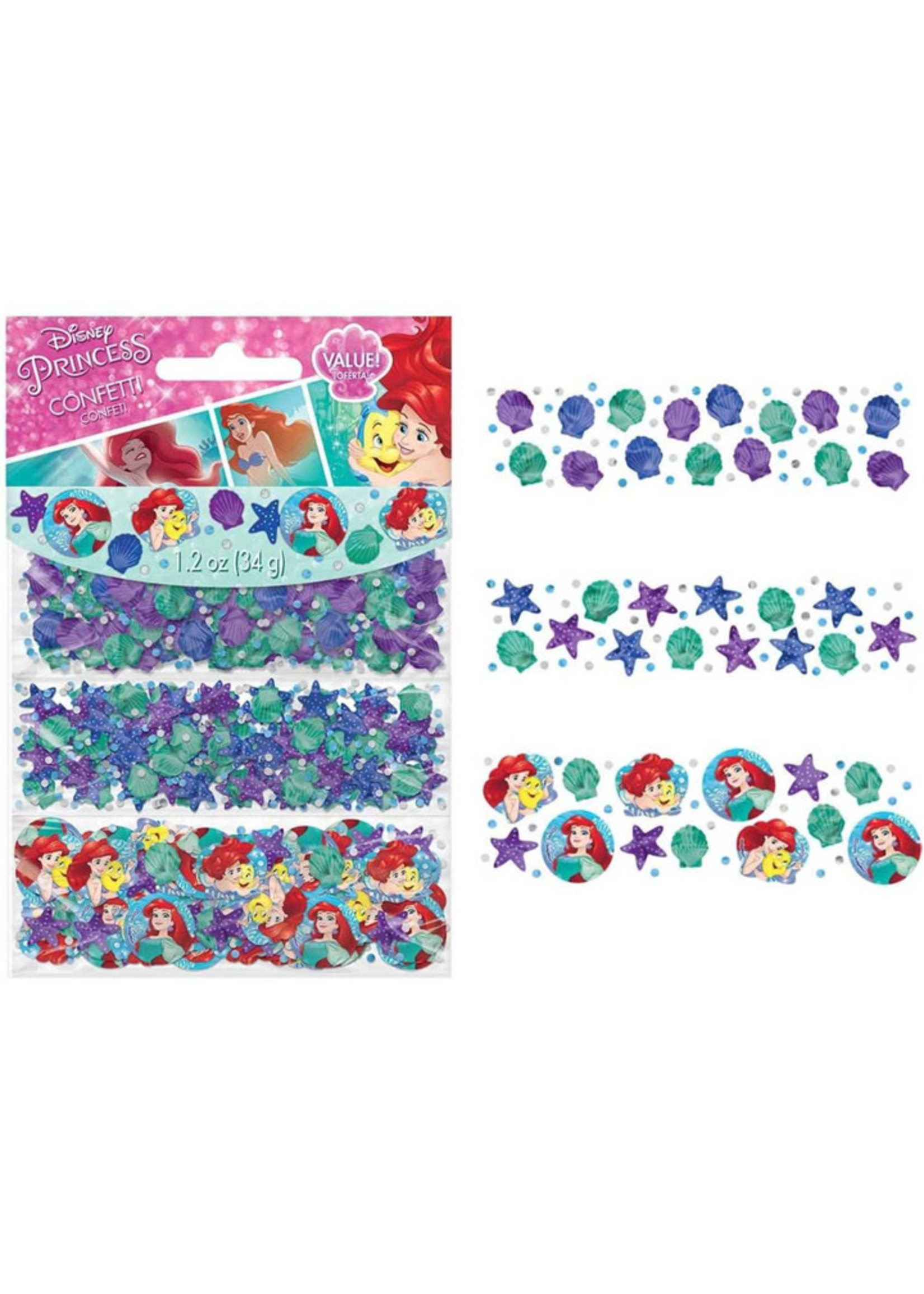 Disney Ariel Dream Big Confetti