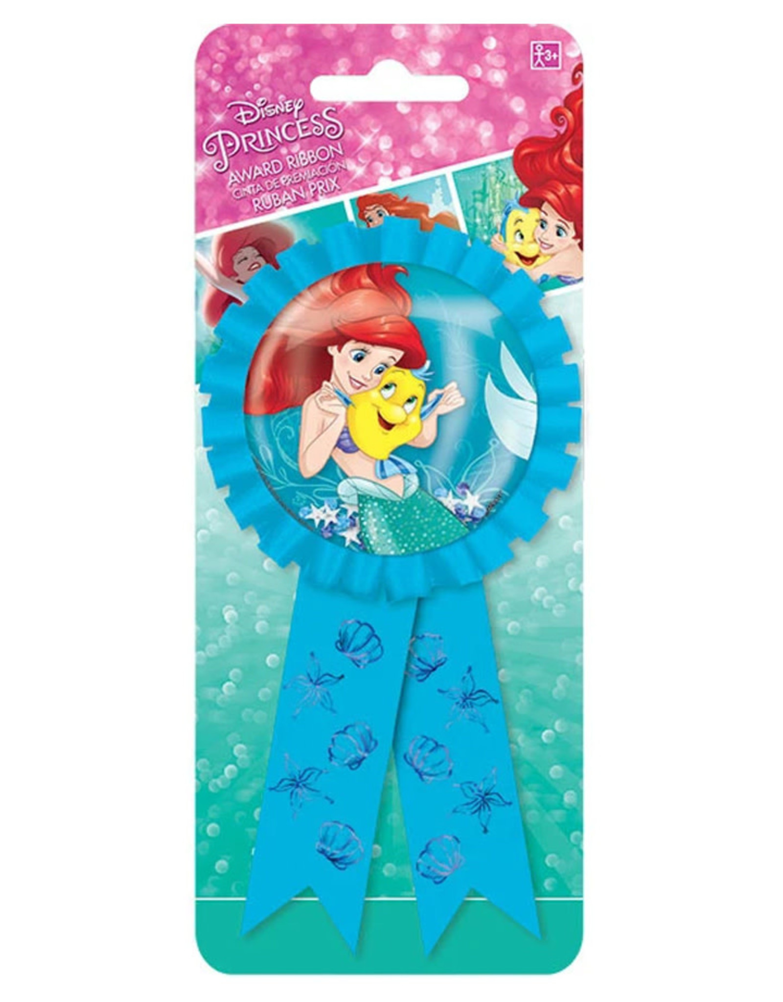 Disney Ariel Dream Big Confetti Award Ribbon