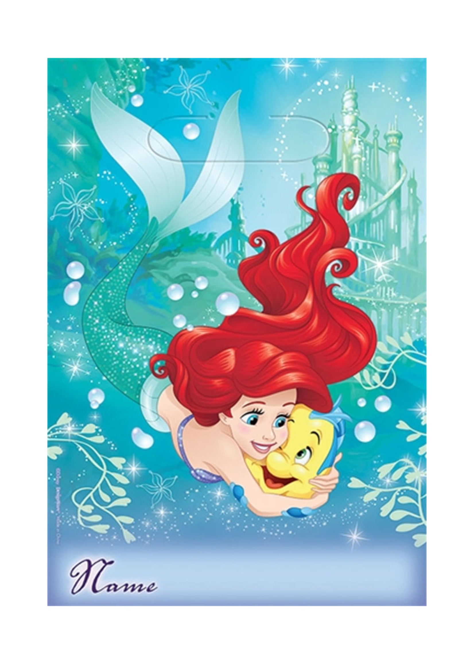 Disney Ariel Dream Big Loot Bags - 8ct